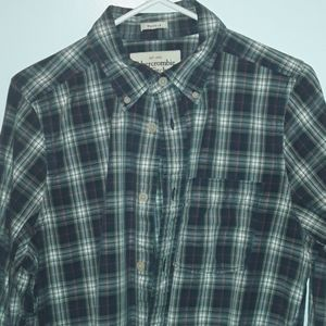 Abercrombie & Fitch Plaid button up